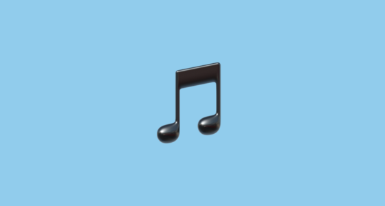 apple music clipart note