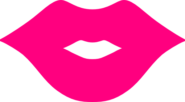 lip clipart pink