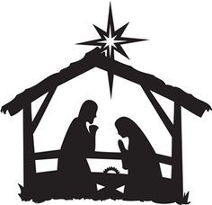 Christmas clipart nativity.