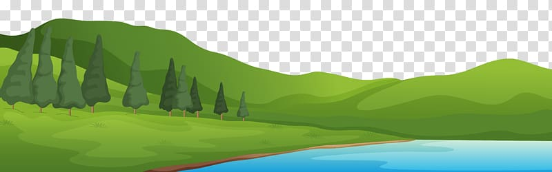 lake clipart clear background