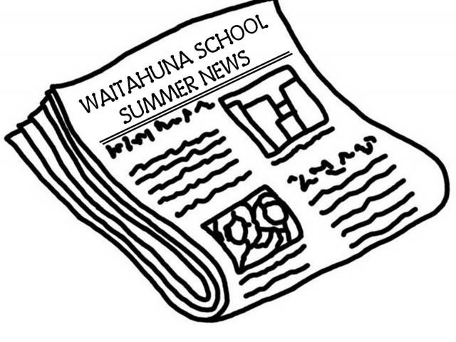 Newspaper clipart outline.