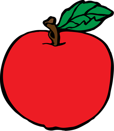 clipart apple clear background