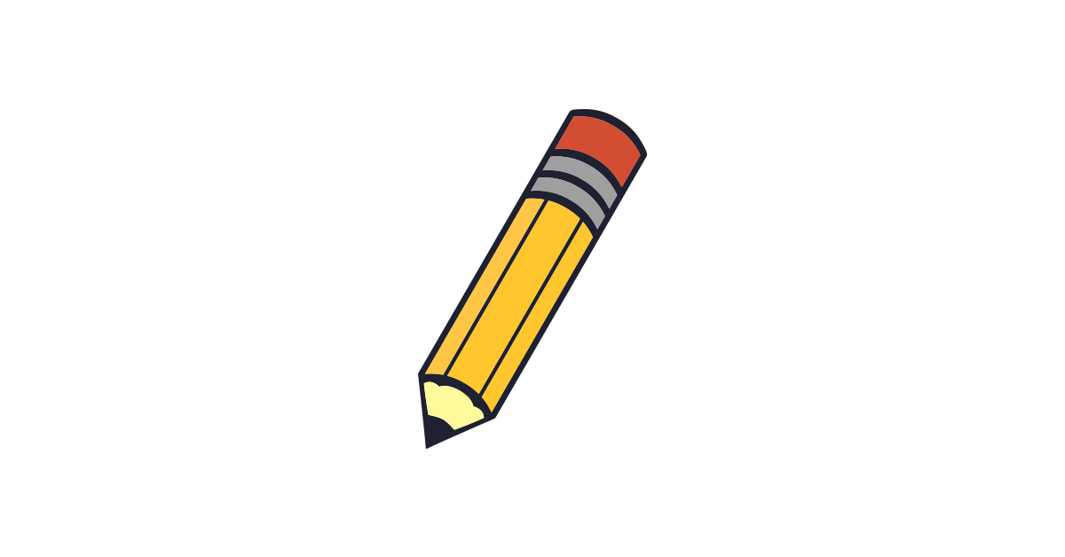 clipart pencil