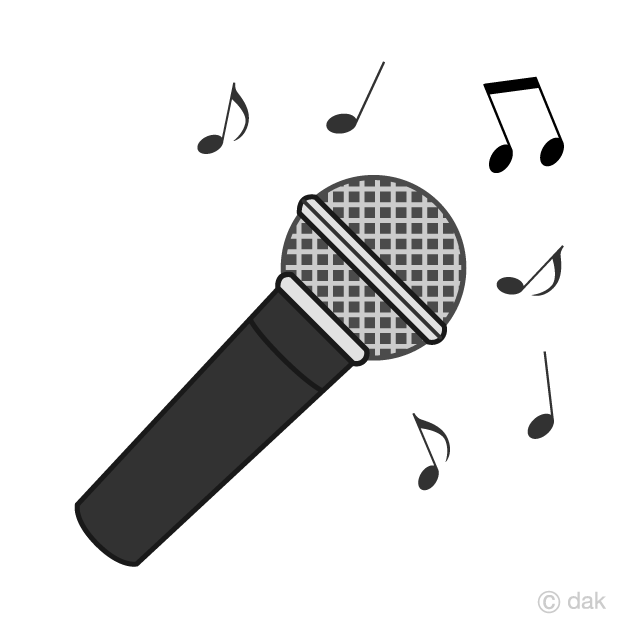 microphone clipart music