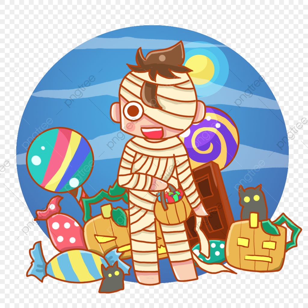 November clipart candy.