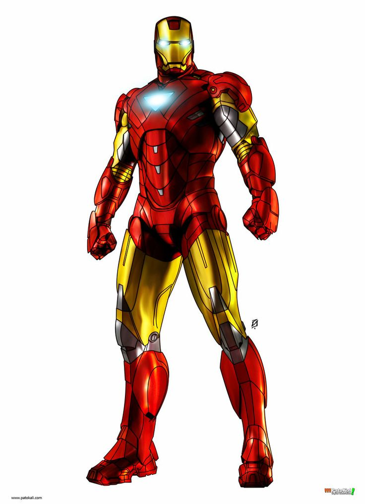 Official clipart iron man.