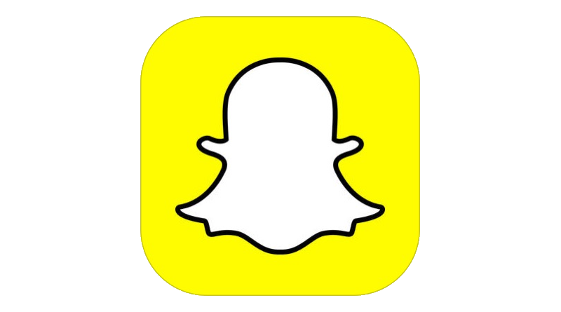 snapchat icon clipart sitting
