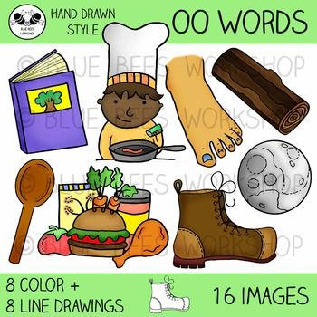 oo clipart words