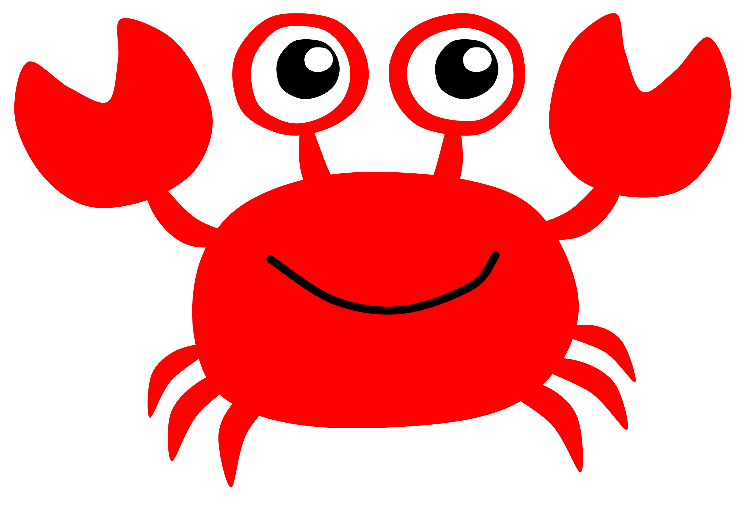 crabs clipart red crab