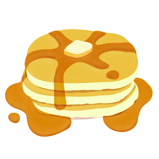 Pancakes clipart birthday.