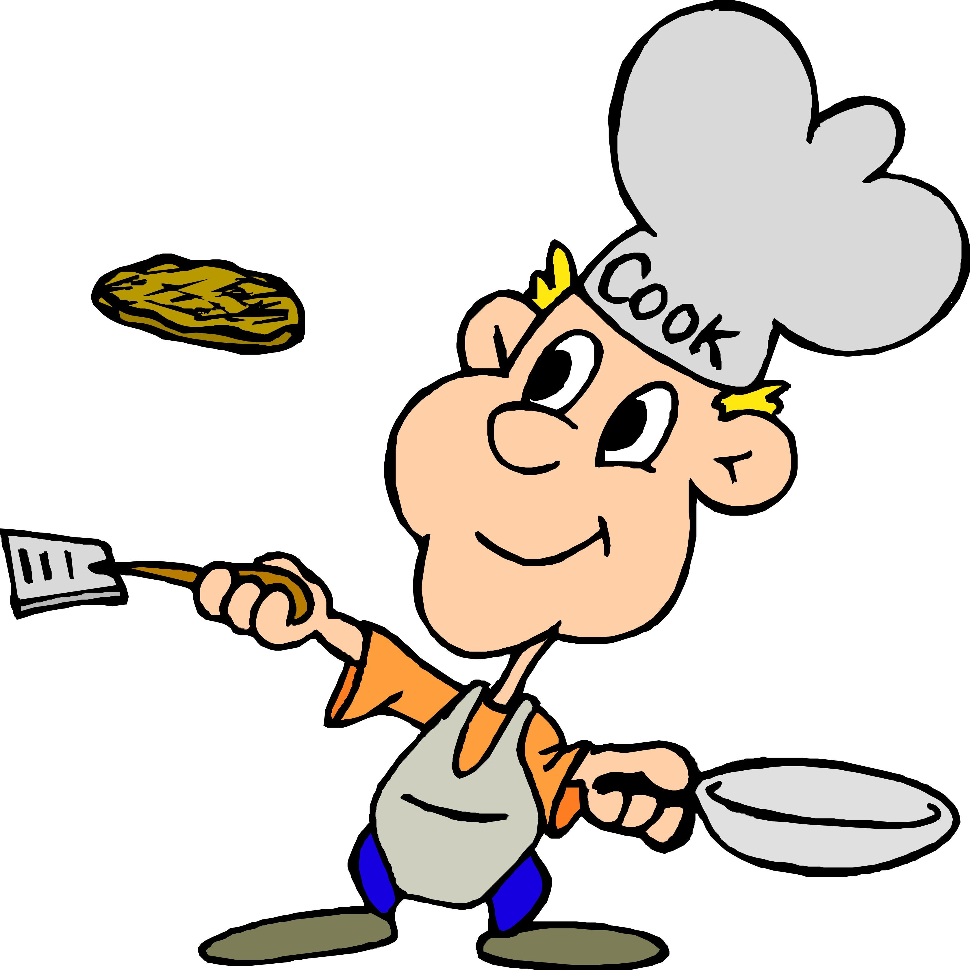 pancakes clipart chef