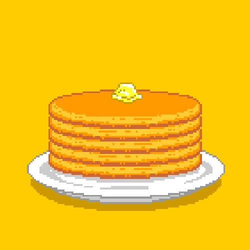 Pancakes clipart animation.