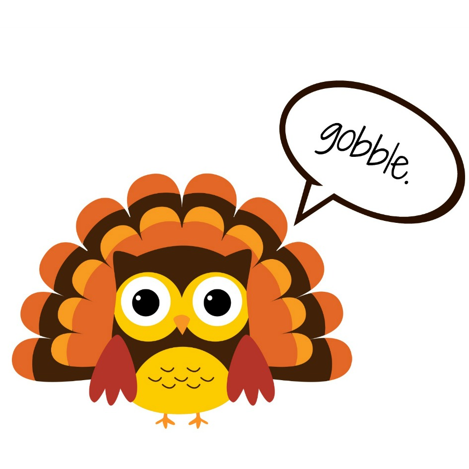 thanksgiving images clipart gobble