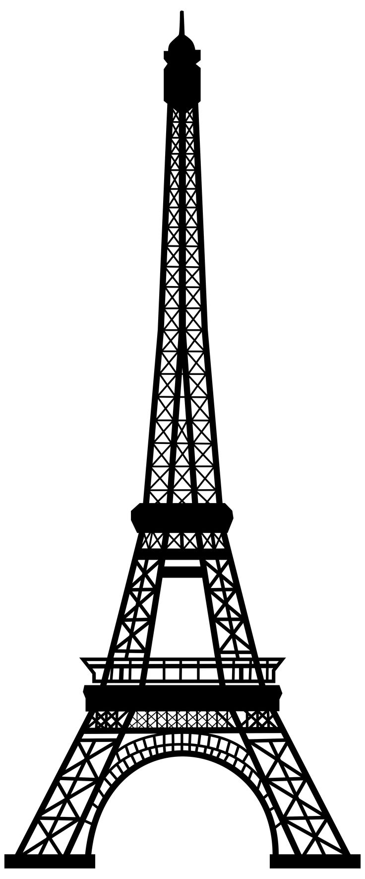 Tower clipart outline.