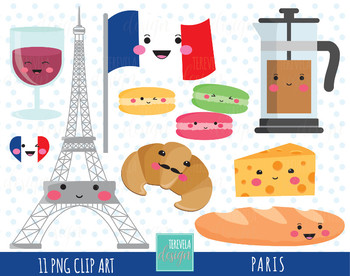 travel clipart kawaii