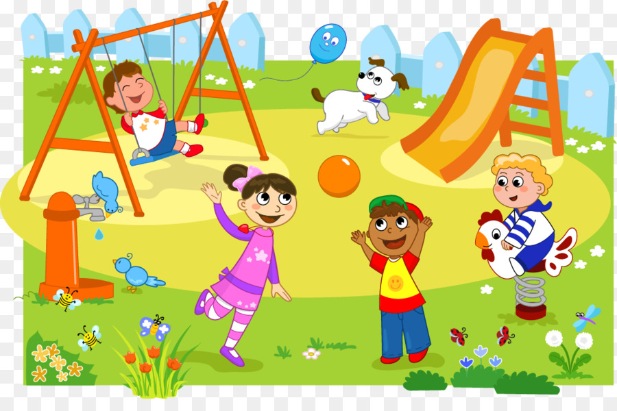 playground clipart cute
