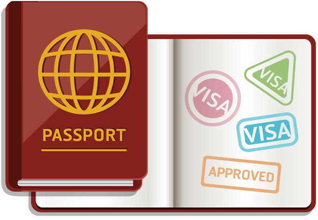 visa clipart approved