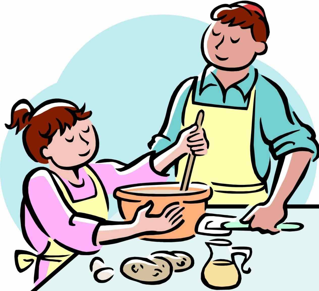 Pastor clipart cooking.