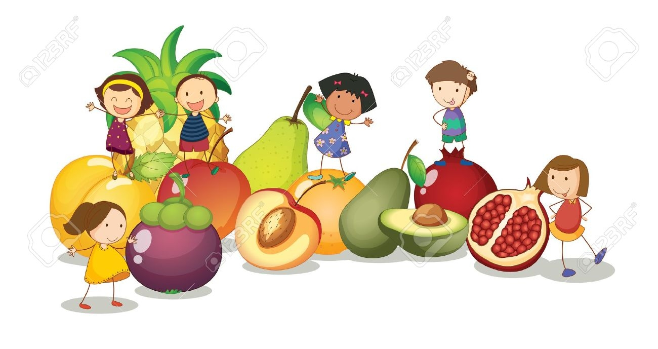 Nutrition clipart kid.