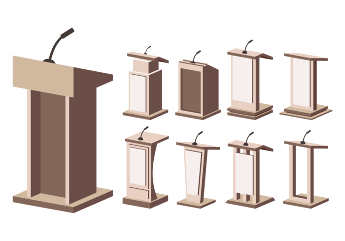 Conference clipart lectern.