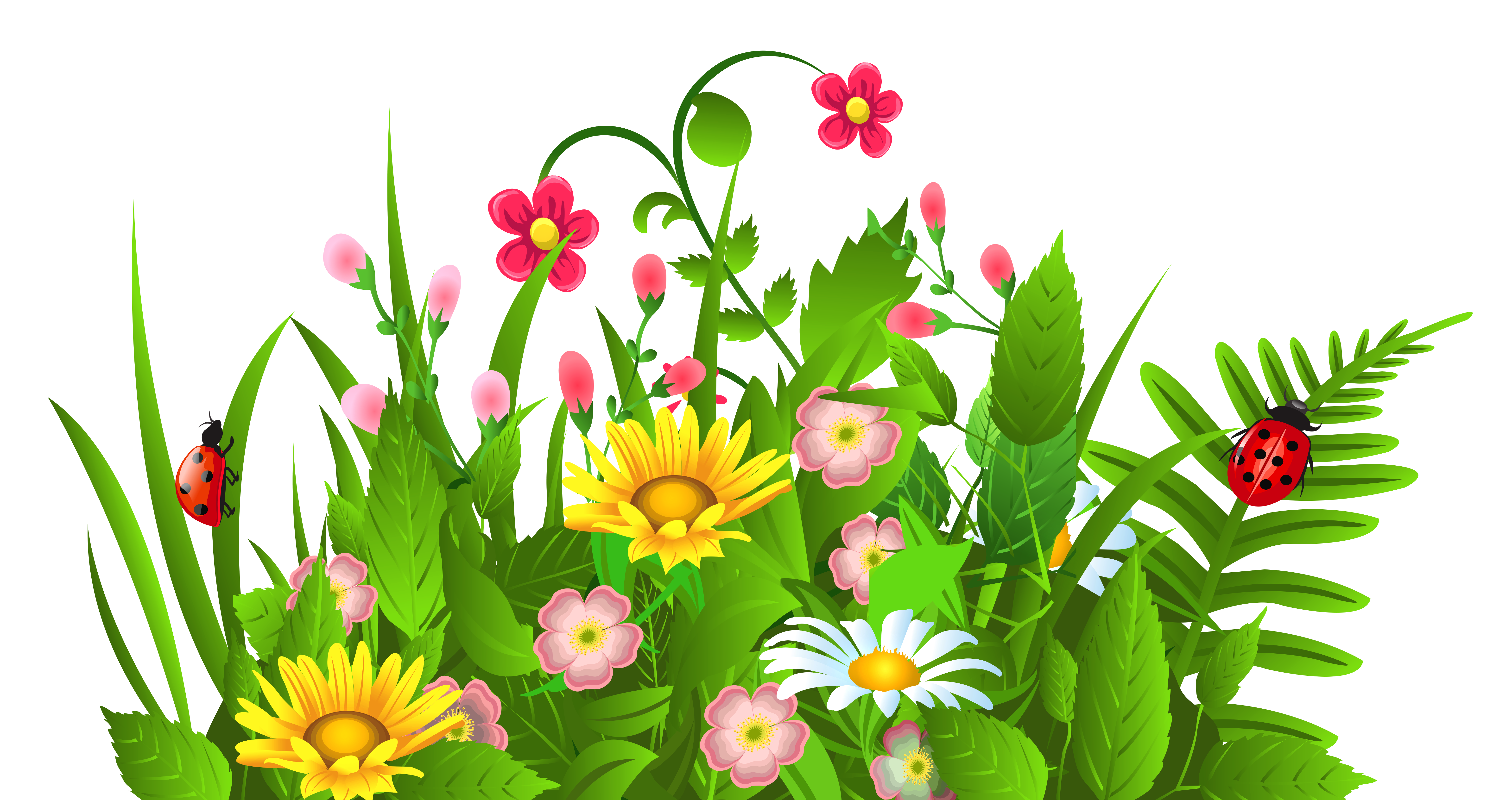 free clipart flowers spring