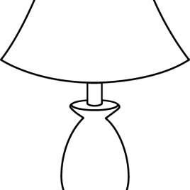 lighting clipart outline