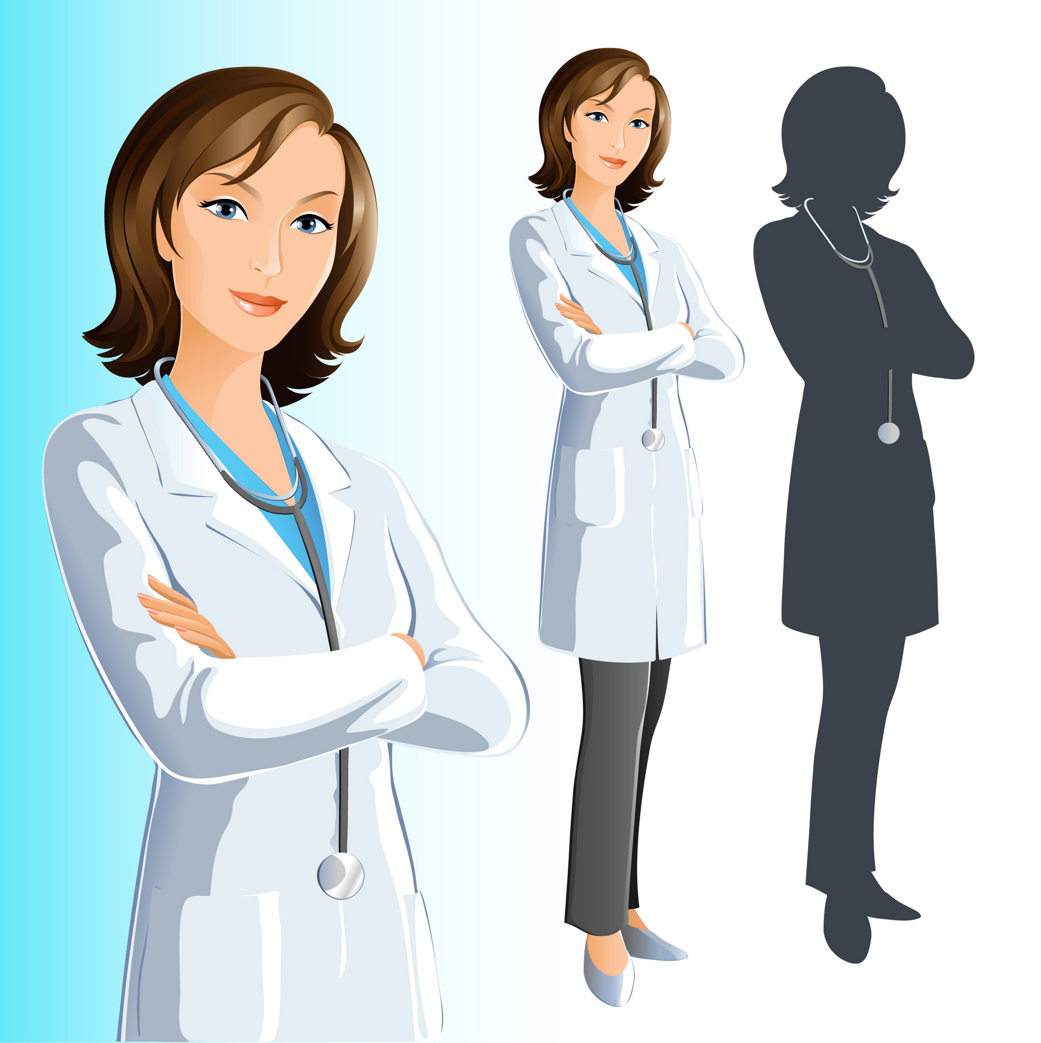 doctor clipart vector