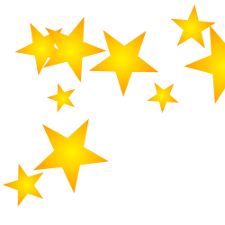 gold star clipart border