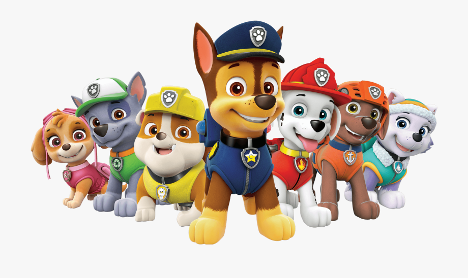 Paw patrol clipart transparent background.