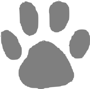 bear paw clipart vector