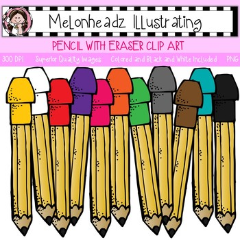 clipart pencil melonheadz