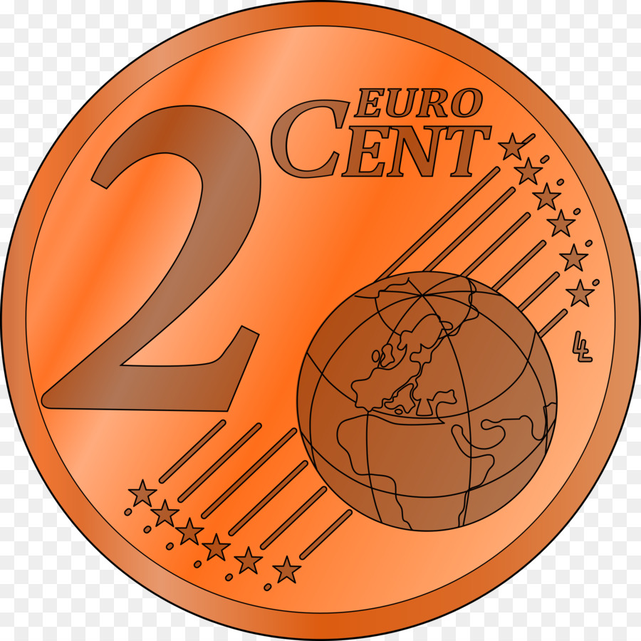 Penny clipart 2 cent.