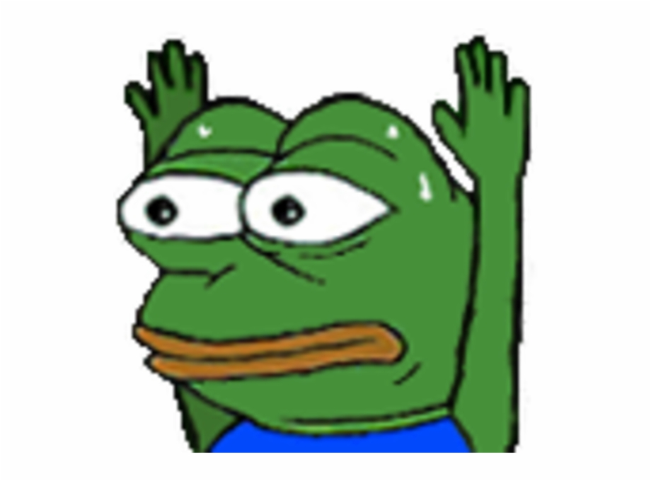 pepehands clipart png