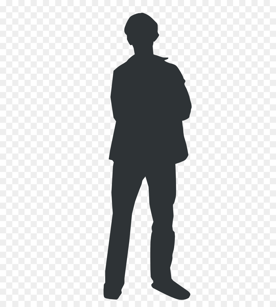 person silhouette clipart human
