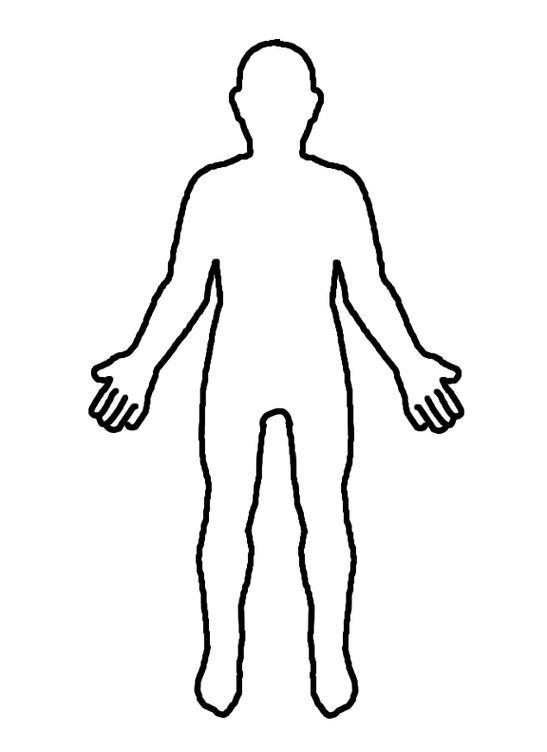 body clipart outline