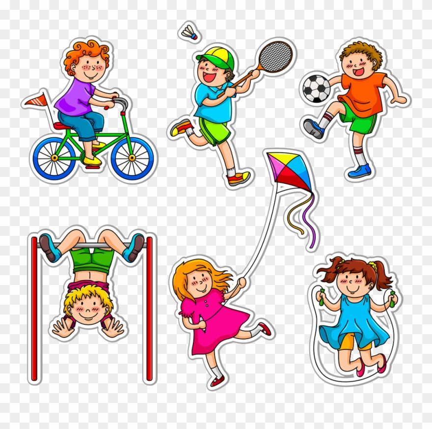 activities clipart daytime