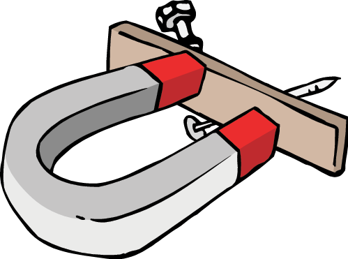 Physics clipart magnetic energy.