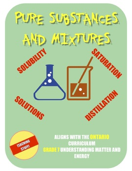 Physics clipart pure substance mixture.