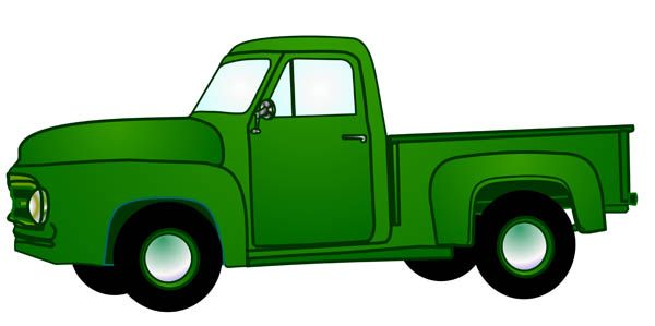 Pickup clipart lorry.