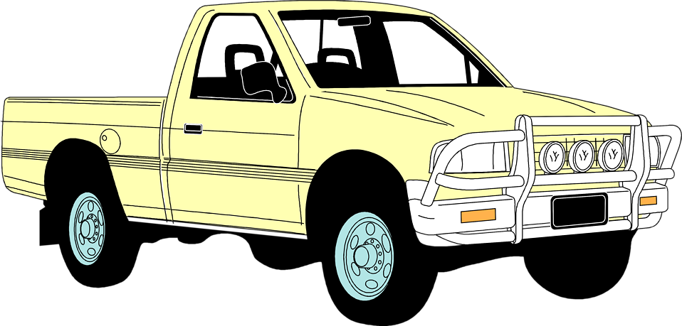 Pickup clipart.