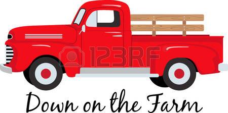 Pickup clipart old fashioned.