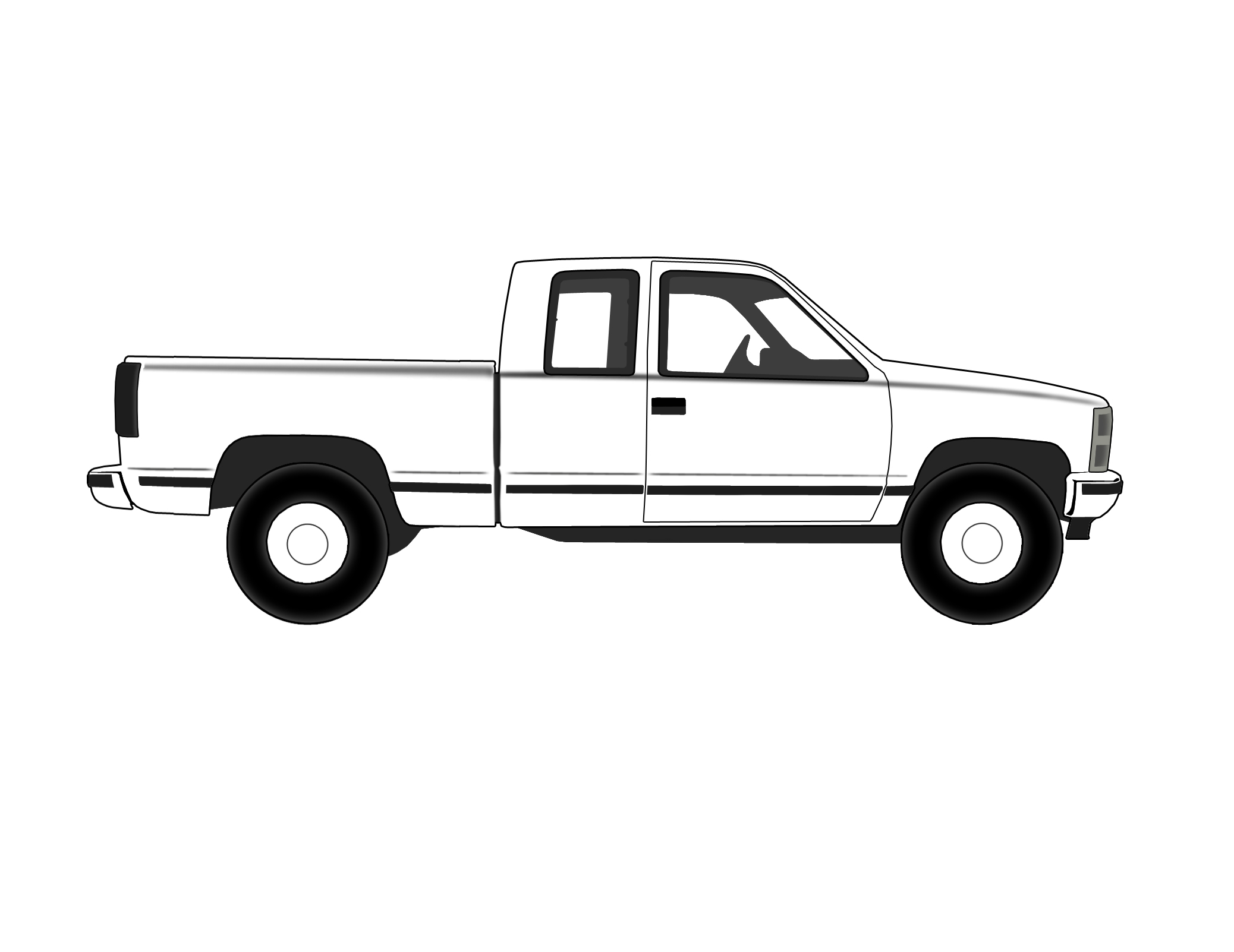 Pickup clipart c10 chevy.