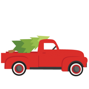 Pickup clipart silhouette.