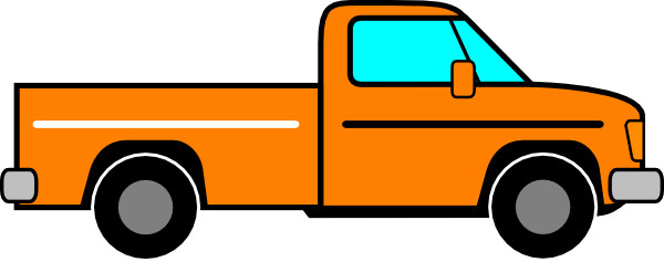 Pickup clipart small truck.