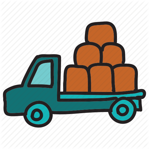 Pickup clipart truck icon.