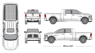 Pickup clipart vechicle.