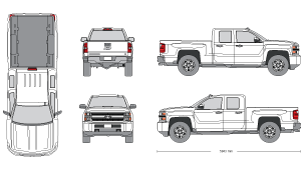 Pickup clipart vehical.