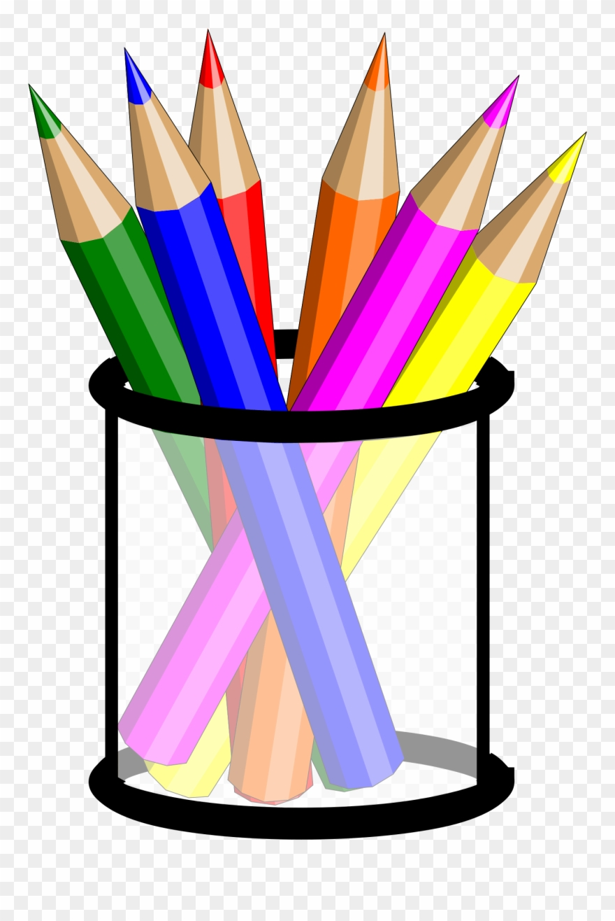 clipart pencil colored