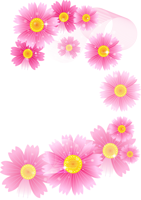 Pink clipart transparent. Flowers full gallery yopriceville