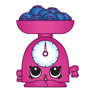 Pink clipart weight scale.